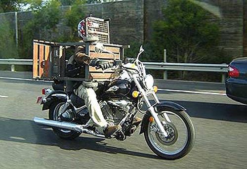 Barbecued Biker