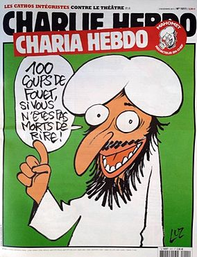 Charlie Hebdo's controversial 2011 cover