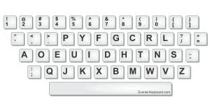The Dvorak Keyboard
