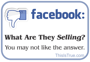 Facebook: What are they selling?