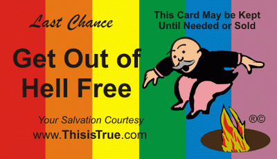 The 'Pride' version of the GOOHF card. Click for details or ordering.