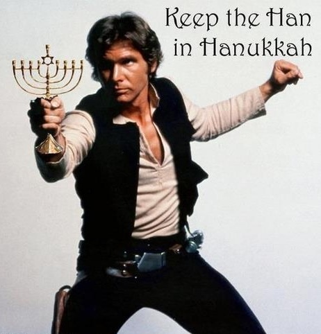 Image: Keep the Han in Hanukkah