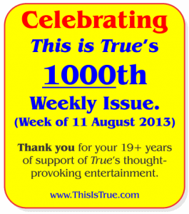 A True Milestone: 1000 Weekly Issues
