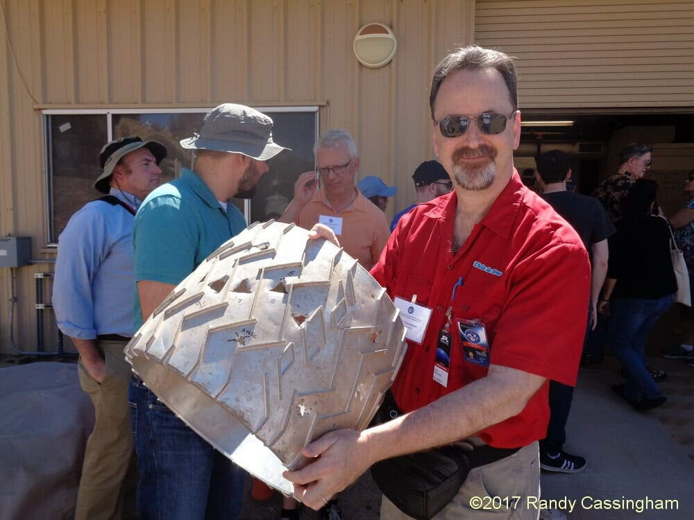 jpl rover wheel - Behind the Scenes at JPL