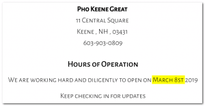 march 8st 300x156 - Pho Keene Controversy