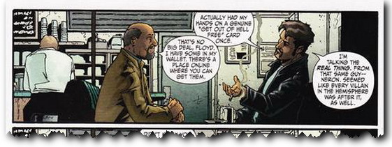 The GOOHF card in Secret Six
