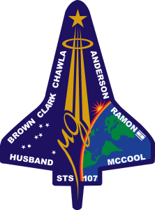 sts107 patch 222x300 - Space Shuttle Columbia Disaster