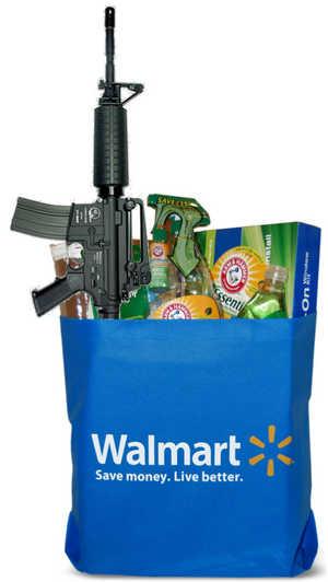 Bag o' stuff from Walmart