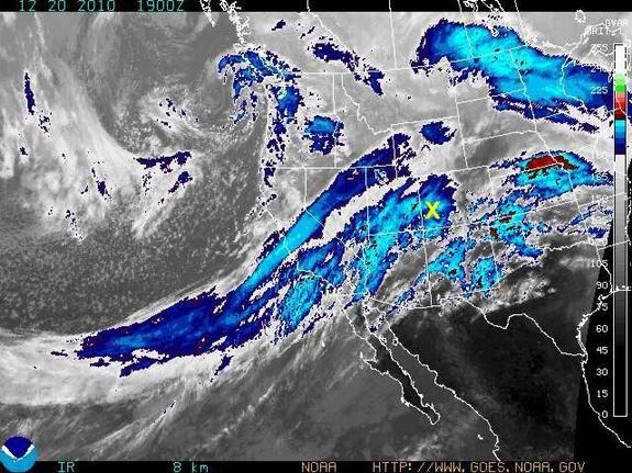 20 December 2010 weather satellite